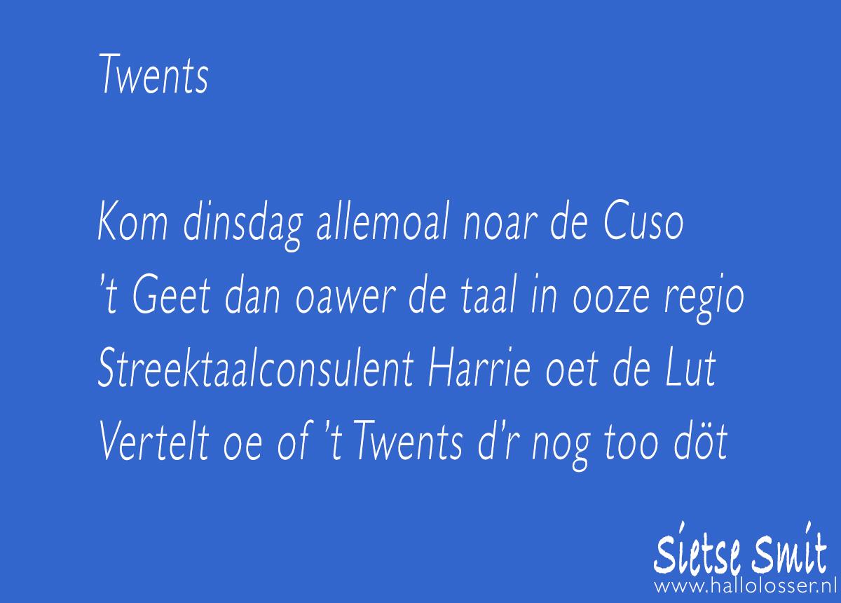 Twents | Hallo Losser