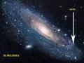 Melkweg en aarde